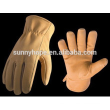 Sunnyhope dubai importers of cheap leather safety working gloves