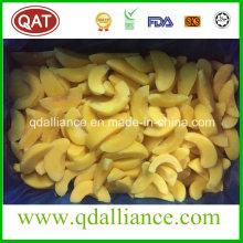IQF Congelado en rodajas de melocotón amarillo