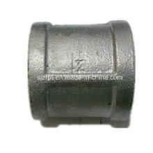 Acoplamiento galvanizado de 1-1 / 2 pulg. Acoplamiento de tubo de hierro maleable