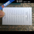 Machen Sie Visitenkarten, Buchdruck Visitenkarten, Spot uv Visitenkarten