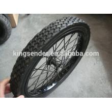 """12"""" semi-pneumático roda pneu de bicicleta"""