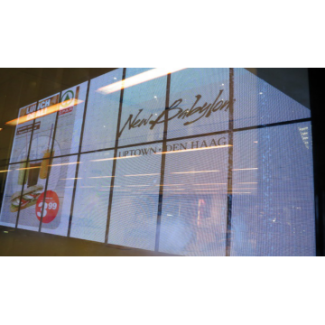 HOT SALE!!!Transparent Indoor LED Large Screen Display