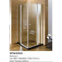 Double douche pliante douche de haute qualité Wtm-03D24
