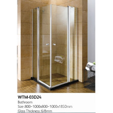 Double Folding Shower Door High Quality Shower Room Wtm-03D24