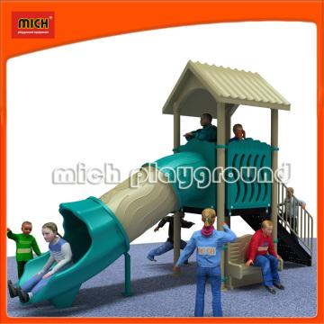 Mich Outdoor Plastikrohre Spielplatz Rutschen (5246A)