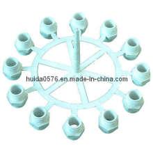 Molde de Encaixe de Tubos (Adaptador de 12 Cavidades)