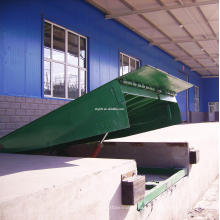 electric static yard ramp factory approved loading dock ramp leveler
