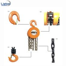Hand operated chain block HSZ type chain hoist