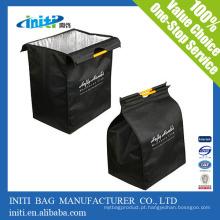 Não tecidos ou poliéster cooler sacos / Cheap personalizado saco conceito cooler