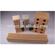 bloque de buffle de panal de cerámica