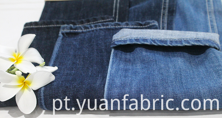 100super Soft 100 Cotton Slub Raw Denim Fabric For Wholesale