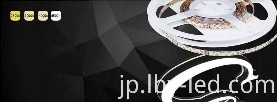S-shape LED strip for channel letters