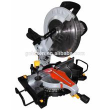 Neueste 305mm 1800w Low Noise Long Life Induktion Motor Compound Gehrungssäge Elektrische Leistung Aluminium Schneidemaschine