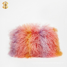 Newest Fashion Real Tibetan Lamb Fur Lady Handbag
