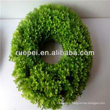 2016 Hanging Good Quality Artificial Moss Grass Garland Rings/garland
