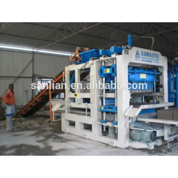 small manufacturing block / brick machine production sale in Ethiopia