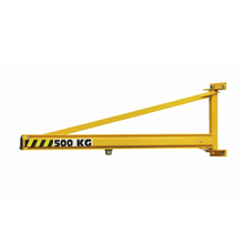 5t electric wall mounted jib crane with hoist
