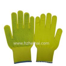 Bunte Nylon Handschuhe PVC Dotted Garten Handschuhe Sicherheit Arbeitshandschuh