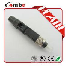 Rápido Conectores rápidos de fibra óptica SC / APC Cable de desconexión FTTH Conector rápido de fibra óptica SC