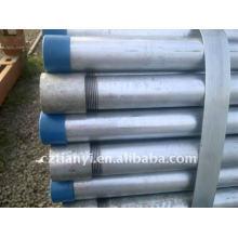 Tubulação roscada galvanizada quente ASTM