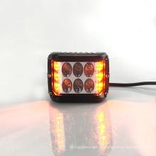 60 Watt bernsteinfarbiges weißes LED-Arbeitslicht-Arbeitslicht-blinkendes Arbeitslicht für SUV ATV