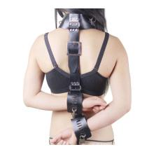 Sexo prazer sexo costas algemas anel de pescoço ligado sexo pé restrição bondage para casais jogo