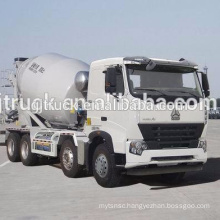 Sinotruk HOWO used mixer truck / HOWO stock mixer truck / HOWO second hand mixer truck / HOWO cement mixer truck in stock
