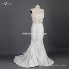 RSW791 Sexy ver a través de corsé dama vestidos de novia de la blusa Vestidos De Novia 2015 vestidos nupciales por un precio