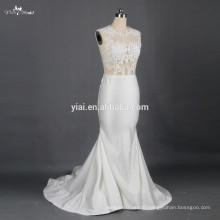 RSW791 Sexy See Through Corset Lace Bodice Wedding Dresses Vestidos De Novia 2015 Bridal Dresses For A Prices