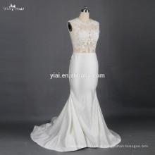 RSW791 Sexy See Through Corset Lace Bodice Vestidos de casamento Vestidos De Novia 2015 Bridal Dresses For A Prices