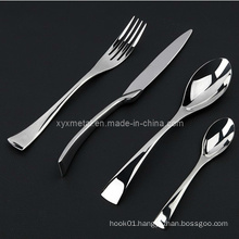 High Class Star Hotel Tableware Cutlery Set Stainless Steel Flatware