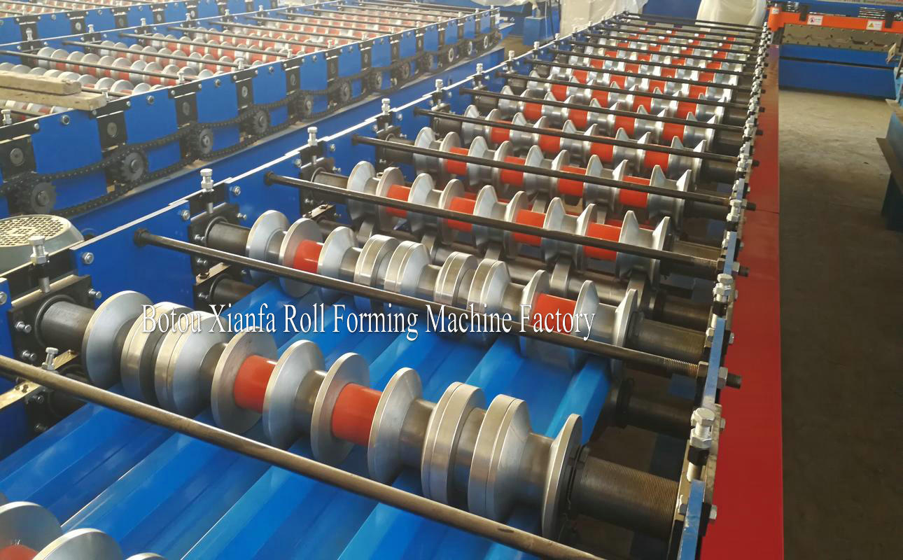 IBR roll forming machines