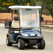 Wholesale EXCAR 48V 2 Seats electric golf cart Electric Utility Cart With Cargo