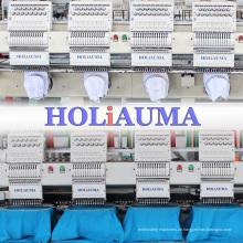 Computergesteuerte Operation Multi Köpfe Stickerei 4 Kopf Maschinenstickerei zum Verkauf