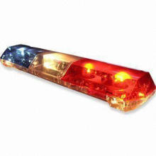 Rotate Lightbar with Halogen Tungsten Bulbs and Rubber Wheel, Available in Various Colors