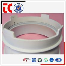 Blanco China OEM aluminio blanco sombra de lámpara de fundición