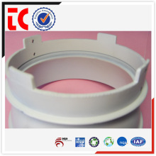 White China OEM aluminium white lamp shade die casting
