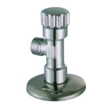 J7002 bronze válvula de ângulo cromo niquelado