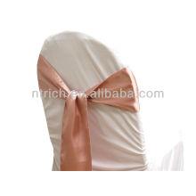mauv, gravata de faixa de cetim cadeira chique moda volta, laço, nó, casamento barato cadeira capas e faixas para venda