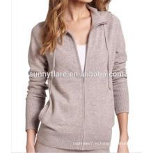 Suéter de cachemira de las mujeres de la venta caliente 100%