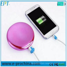 Multi Function Fashion Mirror Mobile Charger Super Slim Power Bank