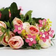 guirnalda de flores artificiales hermosa personalizada de alta calidad para la decoración