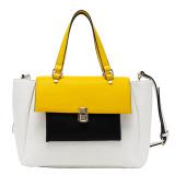 2015 Latest Designer PU Young Lady Tote Handbag (C71116)
