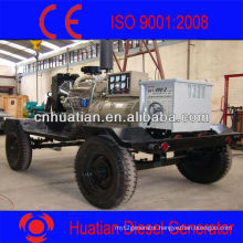 Diesel Engine Welding Mechine Generator with Weather or Sound Proof and Two or Four Wheels Trailer