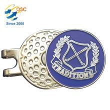 Benutzerdefinierte Logo gedruckt Golf Hut Clip Lieferant