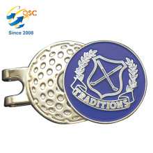 Custom Logo Printed Golf Hat Clip Supplier