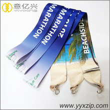 Custom Sublimation Printing Strap Webbing Belt Lanyard