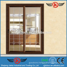 JK-AW9102 aluminum used sliding glass door for sale
