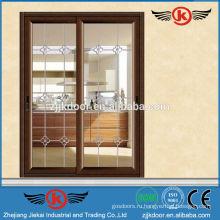 JK-AW9102 алюминий б / у раздвижные стеклянные двери для продажи
