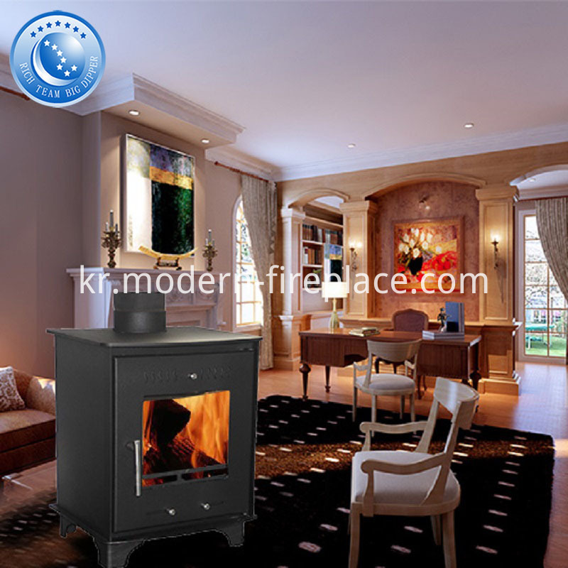 Classic Wood Coal Steel Plate Burning Stove